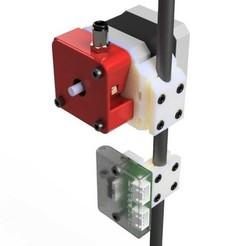 Diapositive1.jpg Télécharger fichier STL gratuit Support moteur & detecteur de filament TriangleLab sur tige D=8mm de triangulation • Modèle imprimable en 3D, Z122