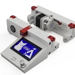Diapositive01.jpg Télécharger fichier STL gratuit Faces AV&AR améliorées pour Dagoma DiscoEasy & DiscoVery • Design à imprimer en 3D, Z122
