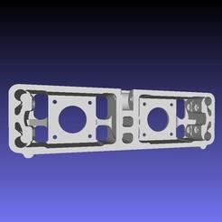 Descargar diseños 3D gratis Remix face arrière pour double moteurs d'extrusions, Z122