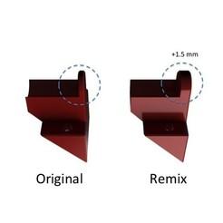 Diapositive1.jpg Download free STL file Remix brides chariots Z(X) pour tiges X de 270 mm • 3D printing template, Z122