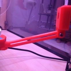 IMG_4037.JPG Download free STL file Perche reglable pour RaspiCam sur Plateau Y Dagoma • 3D printing design, Z122