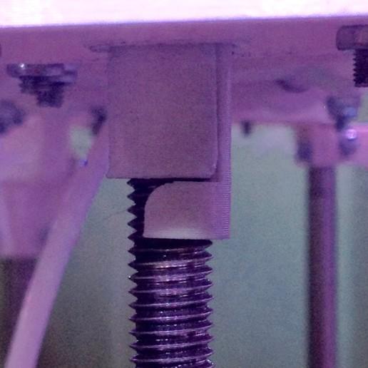 """Télécharger fichier impression 3D gratuit Complément """"guidage haut tige filetée"""" de DAL - Dagoma Discovery 200, Z122"""