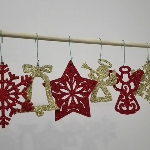 Bajmb Stl Christmas Ornaments Pack 2