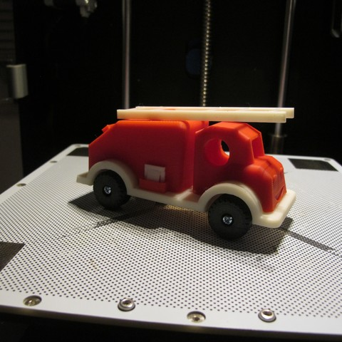 Download STL file firetruck toy DIY • 3D printing object, kallipo