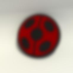 miraculous_lady_bug_BASE.stl Download STL file Miraculous Ladybug logo • Design to 3D print, Endless3D