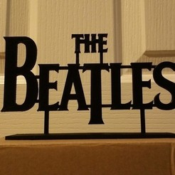 STL file  The Beatles, Endless3D