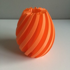 Download free STL file Flexi Vase # 001 • Object to 3D print, OLBA3D