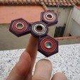 Download free STL file  Spinners O3D (V1 Orange & V2 Purple) • 3D printable object, OLBA3D