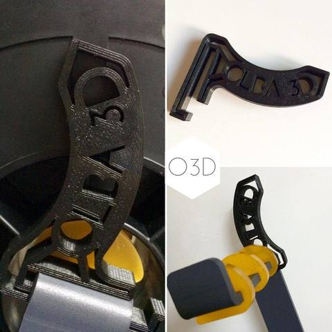 Download free STL file BQ Hephestos 2 Filament Rectifier • 3D printable template, OLBA3D