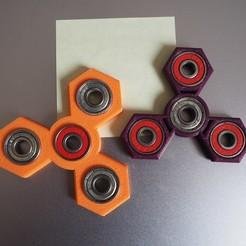 Download free 3D model  Spinners O3D (V1 Orange & V2 Purple), OLBA3D