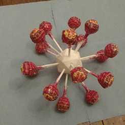 Download free 3D printing models Coronavirus Lollipop Toy, LionFox