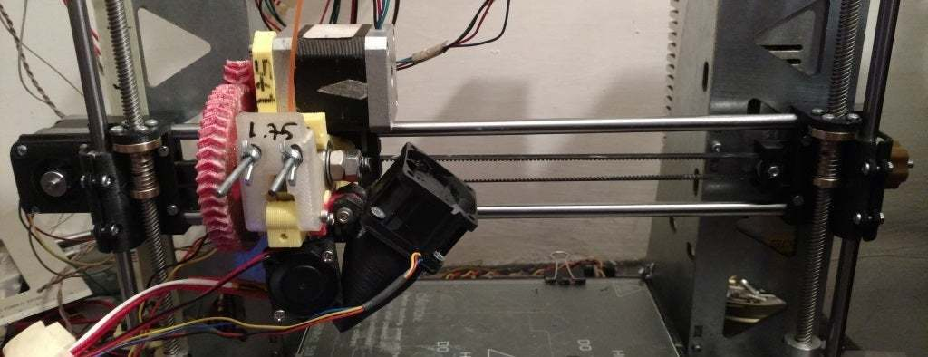 X_axis.jpg Download free STL file Minimal X axis for Prusa I3 Steel - 8mm leadscrew • 3D print model, LionFox
