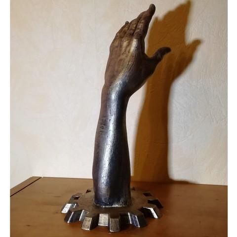 bras-2.jpg Download free STL file The arm of destiny. • 3D printing template, Alienmaker