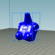 "buste Robotica.png Download free STL file Robot doll ""Robotica"" bust repaired • 3D print template, Alienmaker"