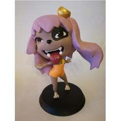 Download free 3D printing files Lilac (Dofus) figurine, Alienmaker