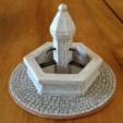 fontaine-1.png Download STL file Fountain for Provençal crèche. • 3D printer design, Alienmaker