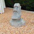 Download free 3D model Moai statue -No overhang, Alienmaker
