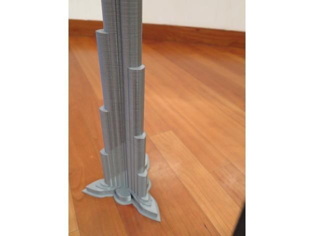 7db2b03d722bf3f7b32179732b672ea9_preview_featured.JPG Télécharger fichier STL Burj Khalifa • Modèle à imprimer en 3D, Chrisibub