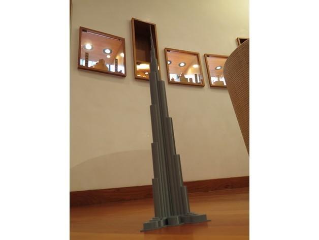 88eb7412930b9c1c6857024b0dd734aa_preview_featured.JPG Télécharger fichier STL Burj Khalifa • Modèle à imprimer en 3D, Chrisibub