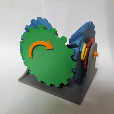 Clockwise Mechanism Connecting 8.jpg Download STL file Clockwise Mechanism • 3D printer model, Chrisibub