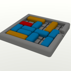 Download free STL file Unblock Board Game • 3D printable design, Chrisibub