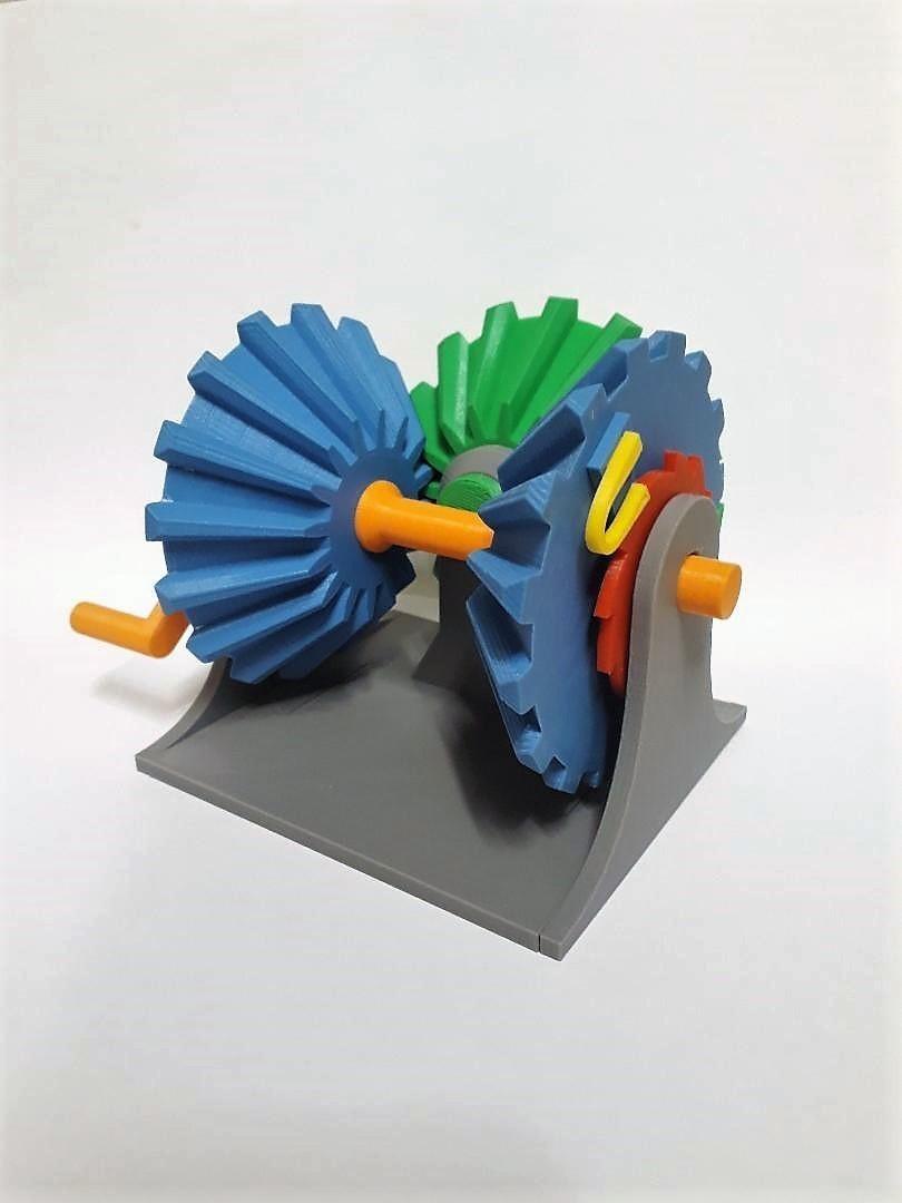 Clockwise Mechanism 3.jpg Download STL file Clockwise Mechanism • 3D printer model, Chrisibub