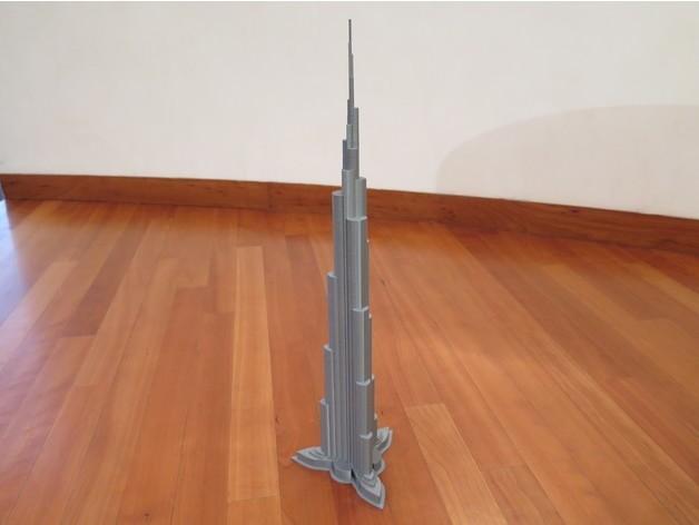 621c058a1feb0926ef6352a062ccabb6_preview_featured.JPG Télécharger fichier STL Burj Khalifa • Modèle à imprimer en 3D, Chrisibub