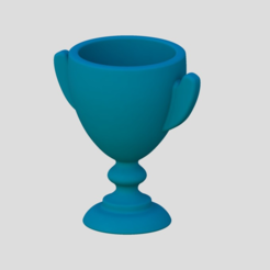 Download free STL file Trophy 2 • 3D printable design, Chrisibub