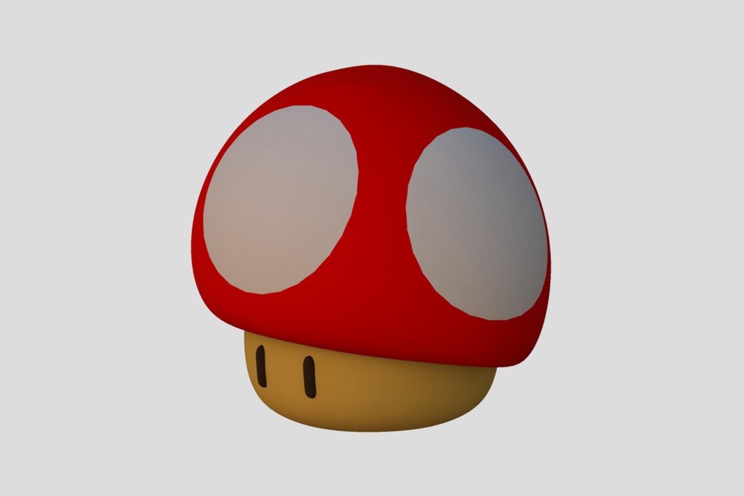 Capture d'écran 2017-04-12 à 14.14.19.png Download free STL file Super Mario Mushroom • 3D printable template, Chrisibub