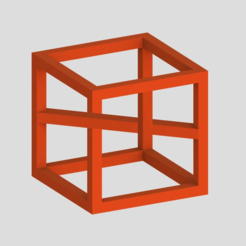 Download free STL file Impossible Cube 3, Chrisibub