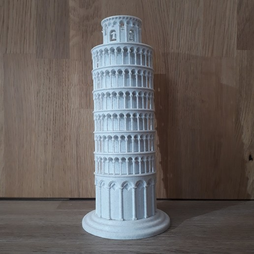 20200212_104024.jpg Download STL file Leaning Tower of Pisa • 3D printing object, Chrisibub