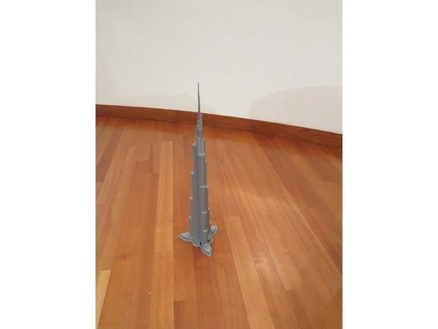 8cb6ff8c3cbde0b4073087ce18aeb808_preview_featured.JPG Télécharger fichier STL Burj Khalifa • Modèle à imprimer en 3D, Chrisibub