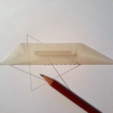 Free 3d printer files Trapezoid Ruler, Chrisibub