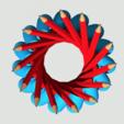 Free 3D printer model Hyperboloid Pencil Holder, Chrisibub