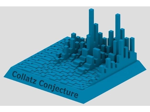 0da39189e984938aeae38cb1598b5866_preview_featured.jpg Télécharger fichier STL gratuit Tours Collatz Conjecture • Plan pour impression 3D, Chrisibub
