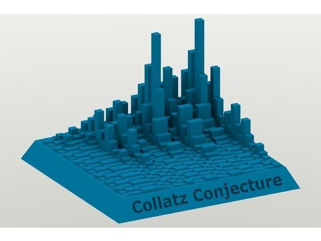 5ee95da16568fc2b5440a3777c247336_preview_featured.jpg Télécharger fichier STL gratuit Tours Collatz Conjecture • Plan pour impression 3D, Chrisibub