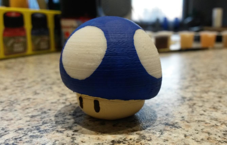 Capture d'écran 2017-04-12 à 14.14.43.png Download free STL file Super Mario Mushroom • 3D printable template, Chrisibub