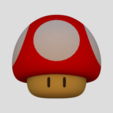 Download free 3D printer designs Super Mario Mushroom, Chrisibub