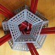 Free stl Dodecahedron Pencil Holder, Chrisibub