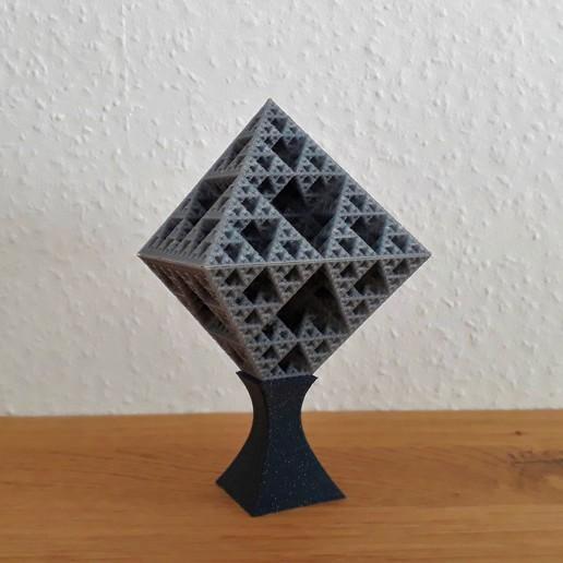 Descargar archivo 3D Octaedro de Sierpinski, Chrisibub