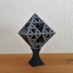 Sierpinski 1.jpg Download STL file Sierpinski Octahedron • 3D print model, Chrisibub