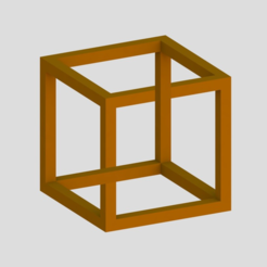 Free 3d printer designs Impossible Cube 1, Chrisibub
