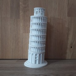 Download STL file Leaning Tower of Pisa • 3D printing object, Chrisibub