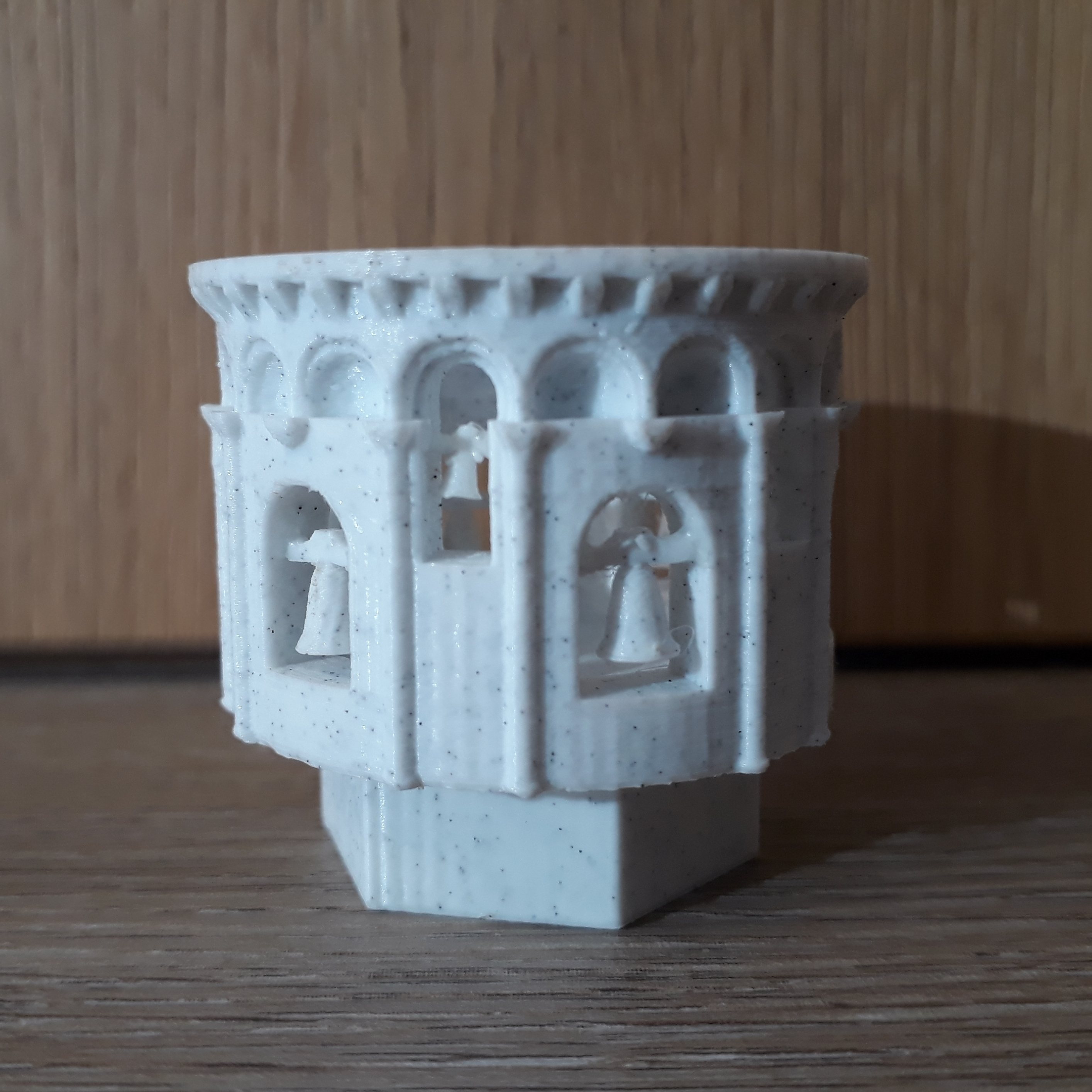20200212_104121.jpg Download STL file Leaning Tower of Pisa • 3D printing object, Chrisibub