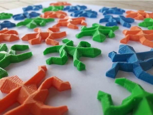 a7a544b883b0f6397af76f7ff9798b9e_preview_featured.jpg Download free STL file Escher Lizards • 3D printable model, Chrisibub