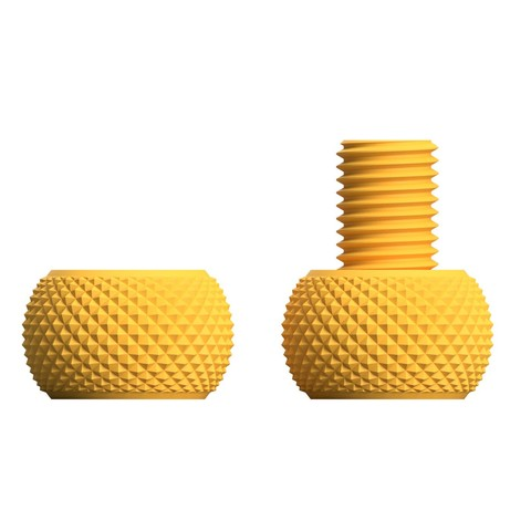 yet_another_knurling201.jpg Download free STL file Yet another knurling bolt and nut • 3D printer object, akira3dp0