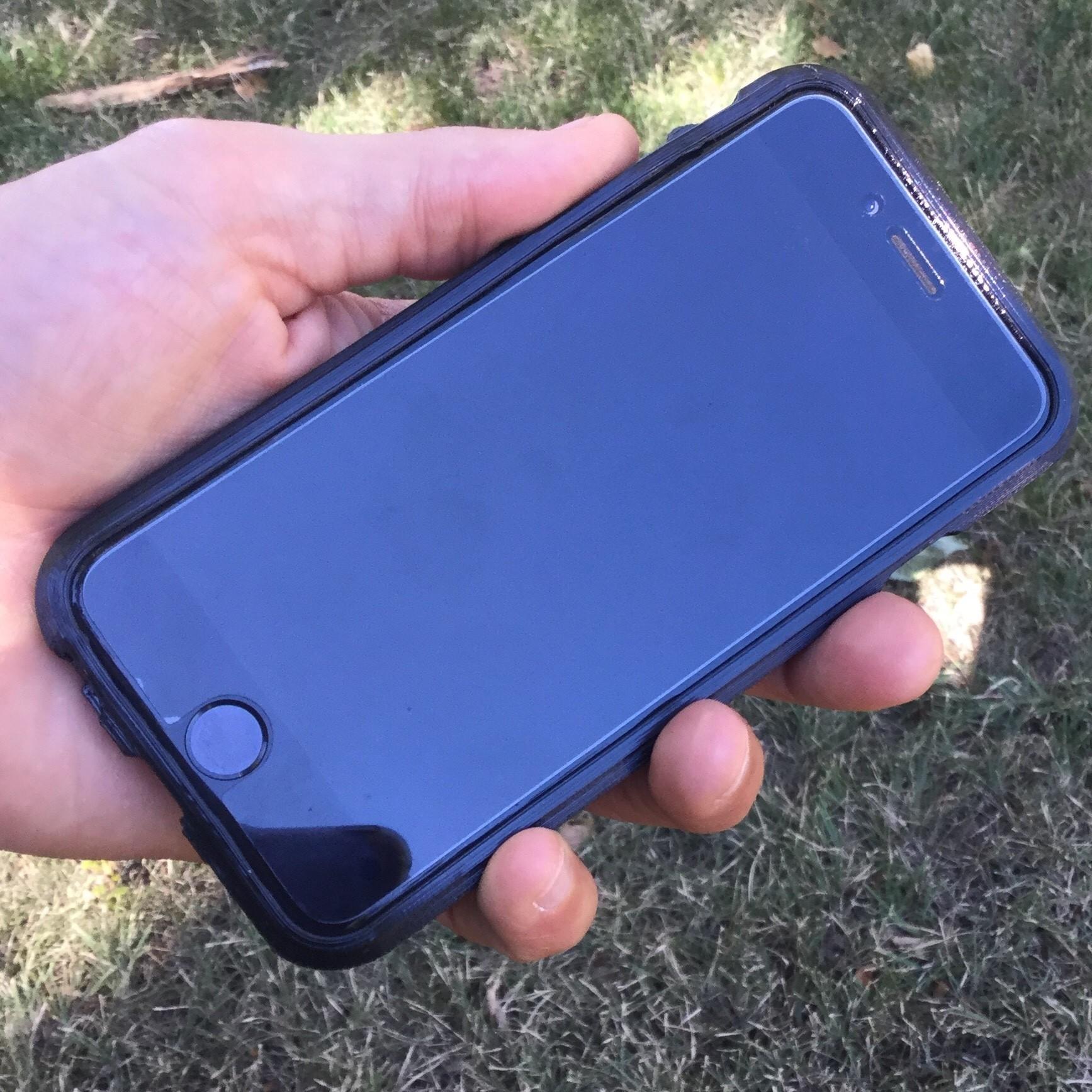 IMG_0461.JPG Download free STL file Map Phone Case - Boulder, CO • Model to 3D print, BryanTheLion