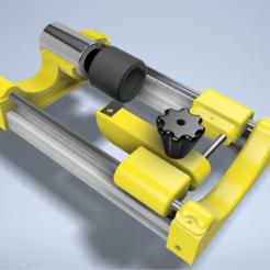 Tour_a_pneu_modelisation.png Download STL file RC Tire Truer (RC Tire Truer) • 3D printing design, abo974