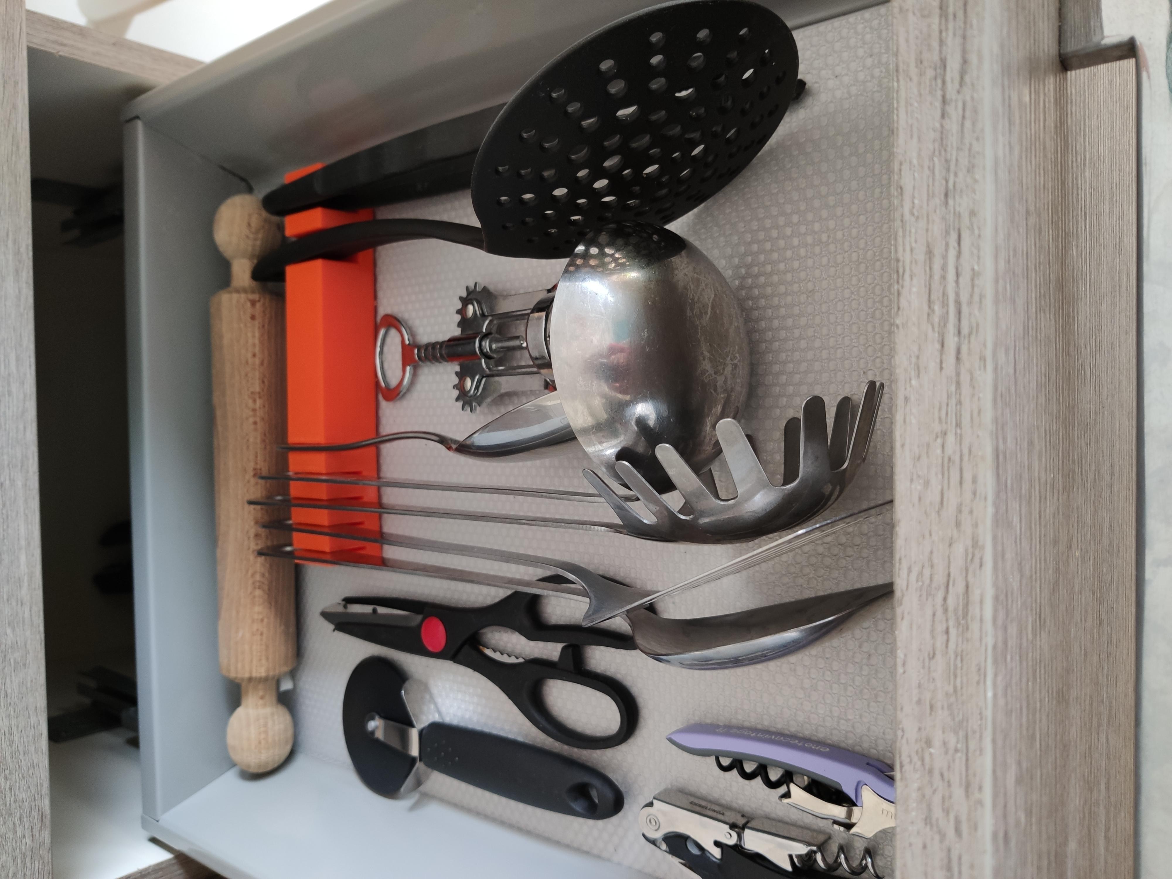 IMG_20190906_143546.jpg Download free STL file Kitchen Drawer Organizer • 3D printing template, Brignetti_Longoni