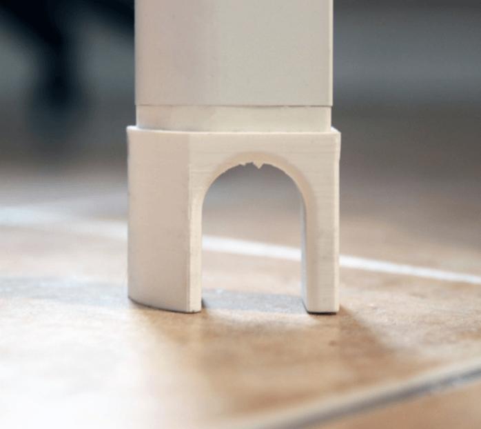 Capture d'écran 2018-03-02 à 10.12.43.png Download free STL file IKEA Bekant Desk Foot • Template to 3D print, Brignetti_Longoni